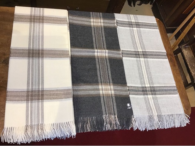 Plaid in Baby Alpaca