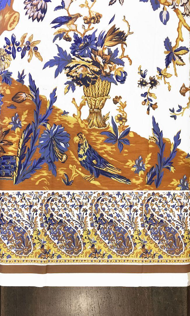 Giovanni rivara albero della vita con macaco giallo blu for Albero con fiori blu